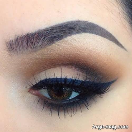 مدل آرایش چشم ساده و زیبا