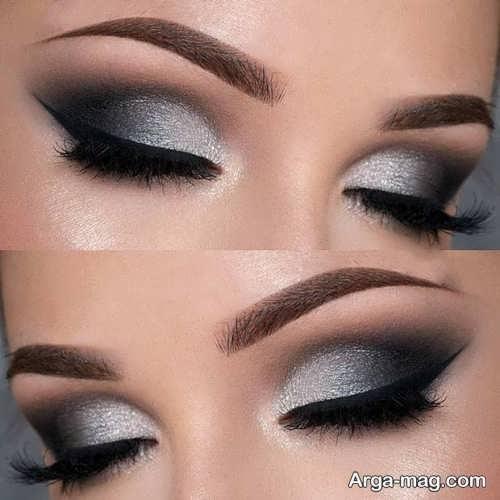 مدل آرایش چشم زنانه شیک و زیبا