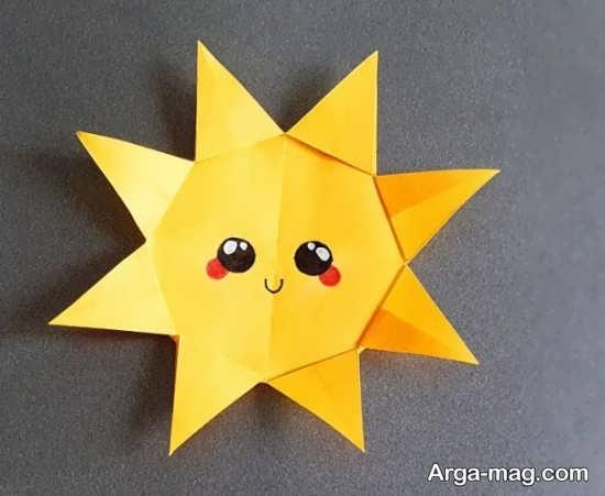 ساخت خورشید با کاغذ