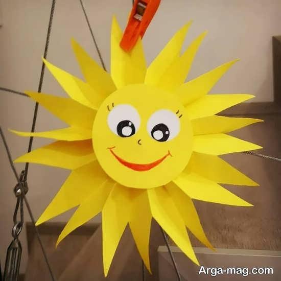 مدلی از ساخت خورشید