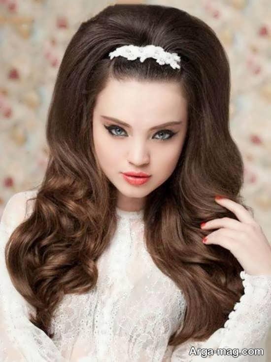 مدل مو زیبا برای موهای پر
