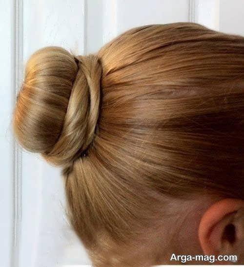 مدل موی زیبا و ساده گوجه ای