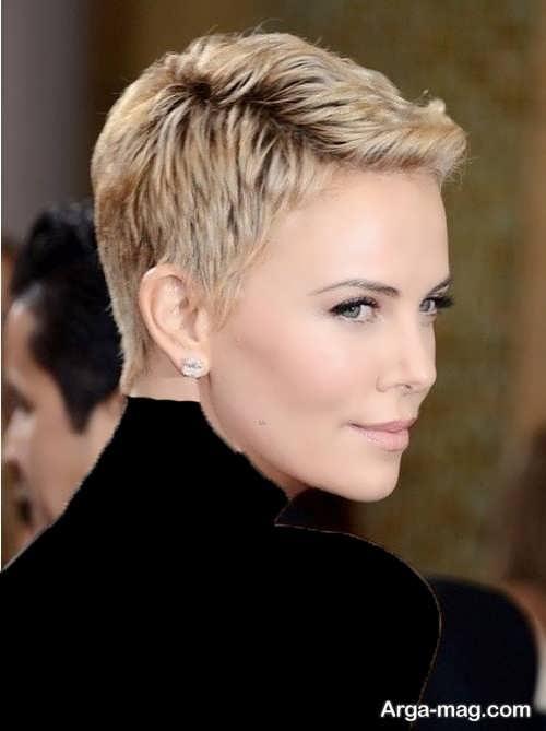 مدل موی خیلی کوتاه زنانه
