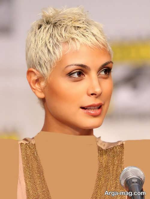 مدل موی خیلی کوتاه زنانه زیبا و خاص