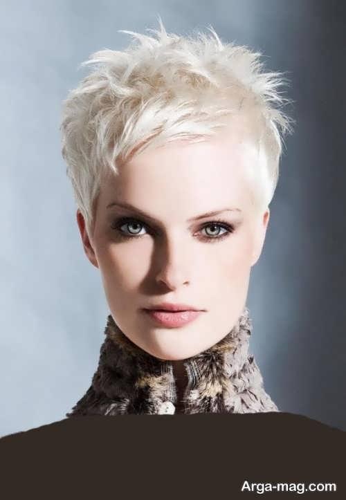 مدل موی جذاب و کوتاه زنانه