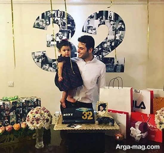 جشن تولد علی ضیا