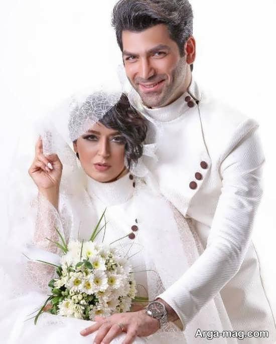 مراسم ازدواج فریبا طالبی