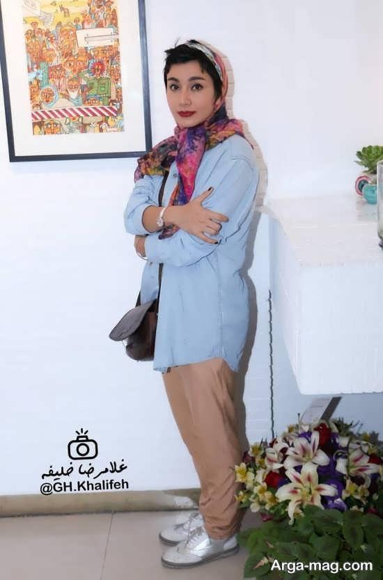 خاطره حاتمی در نمایشگاه نقاشی