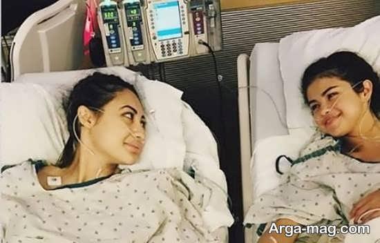 سلنا گومز در بیمارستان