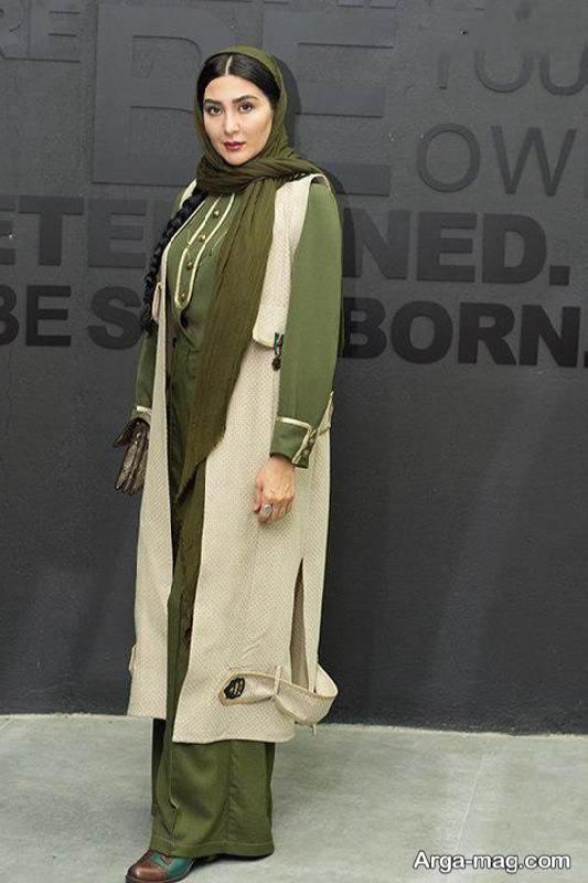 مدل مانتو شلوار مریم معصومی