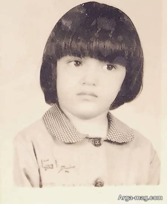 عکس کودکی میترا حجار