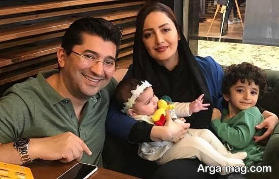 عکس خانوادگی شیلا خداداد
