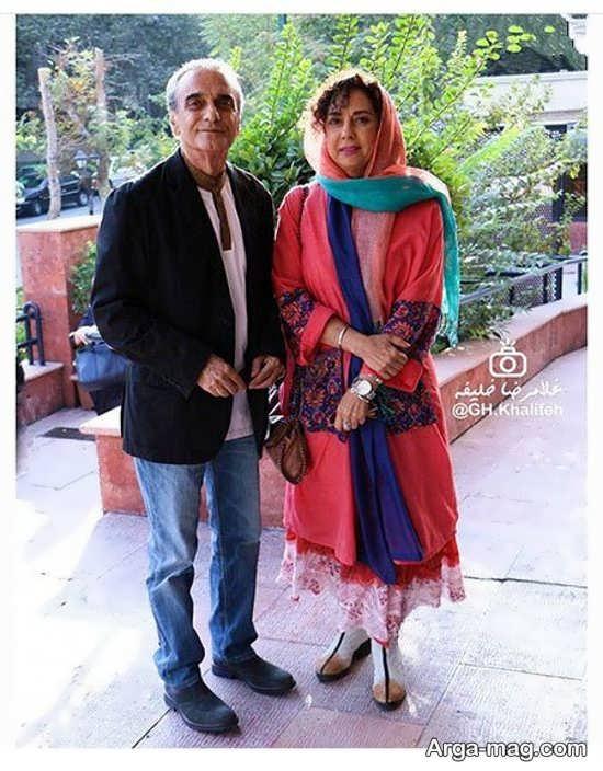 عکس همایون ارشادی و همسرش