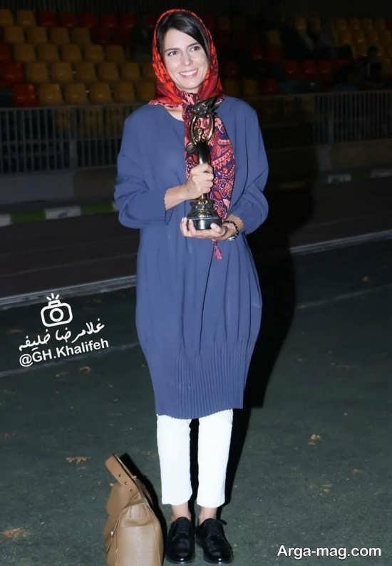 لیلا حاتمی در جشن خانه سینما