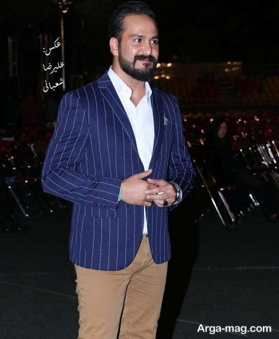 میلاد کی مرام در جشن خانه سینما