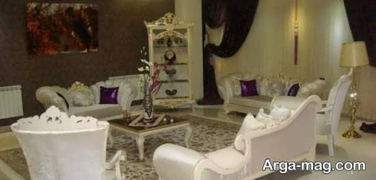طراحی داخلی سالن پذیرایی عروس