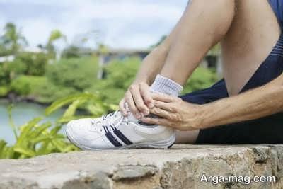 راه های درمان درد مچ پا