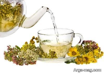 رفع مسمومیت خانگی با چای گیاهی
