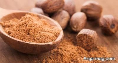 جوز هندی و برطرف کردن مسمومیت غذایی