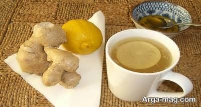 زنجبیل و درمان خانگی مسمومیت غذایی