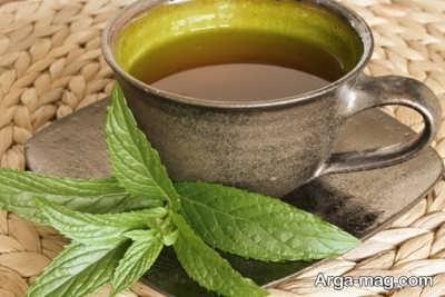 درمان مسمومیت غذایی با چای نعناع فلفلی