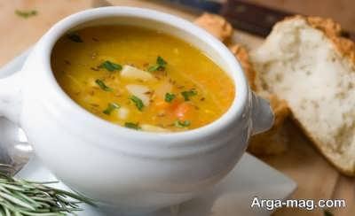سوپ رقیق مرغ و رفع مسمومیت غذایی