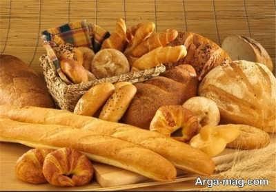 نان و خاصیت برطرف کنندگی مسمومیت