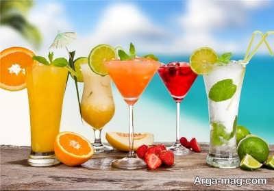 آب میوه های طبیعی و درمان مسمومیت غذایی