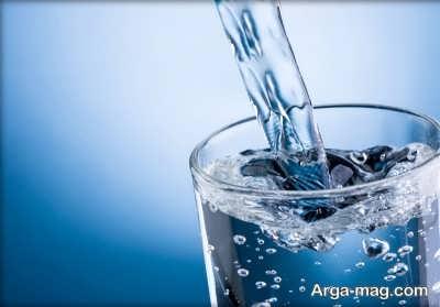 درمان خانگی مسمومیت غذایی با آب
