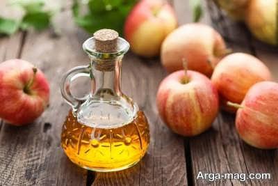 درمان مسمومیت غذایی با سرکه سیب