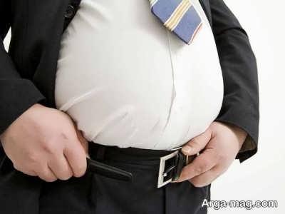 نفخ کردن یکی از دلایل افزایش شکم است