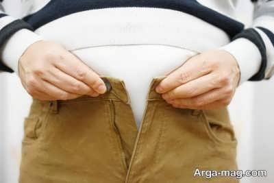چرا شکم افراد بزرگ می شود؟