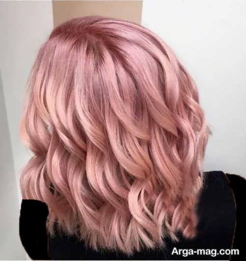 رنگ مو روشن پوست پیازی