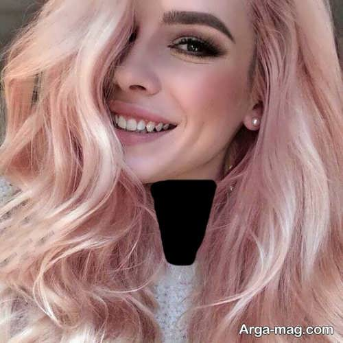 مدل رنگ مو پوست پیازی