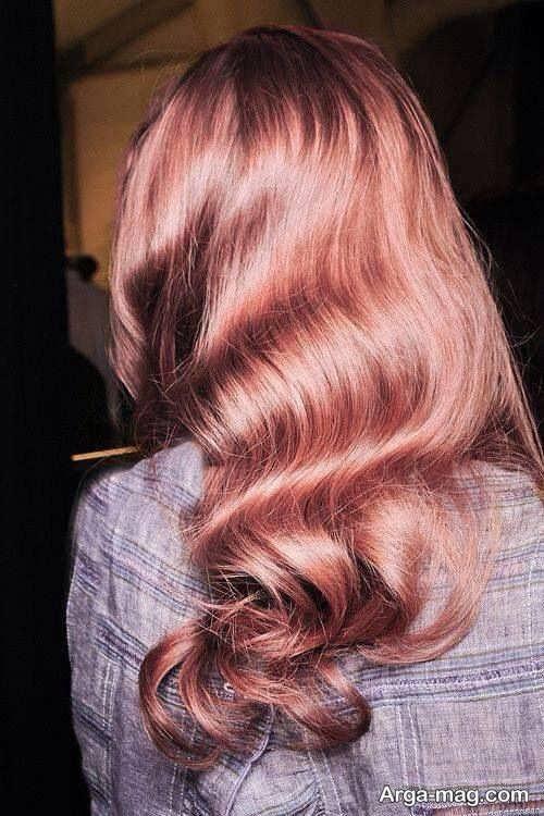 فرمول رنگ موی پوست پیازی و عکس های این رنگ موی فانتزی