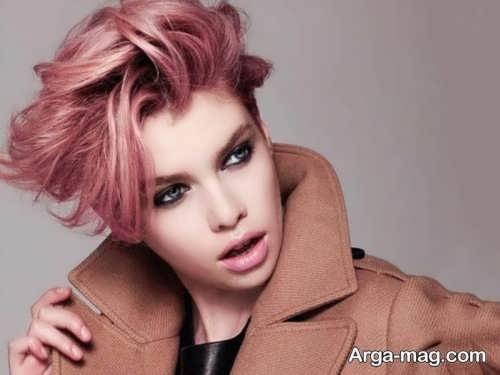 رنگ مو دخترانه پوست پیازی