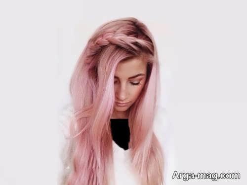 رنگ موی زیبا و شیک پوست پیازی