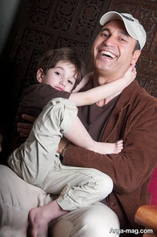 حمید فرخ نژاد و پسرش نوید
