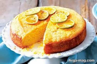 دستور تهیه کیک لیمویی