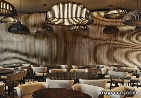 طراحی خلاقانه فضای داخلی کافی شاپ