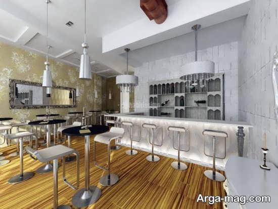 طراحی های زیبا و جذاب فضای داخلی کافی شاپ