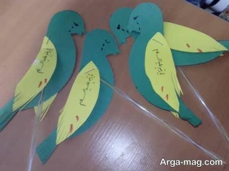 کاردستی کودکانه جالب برای بچه ها