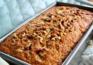 طرز تهیه کیک گردویی کشمشی