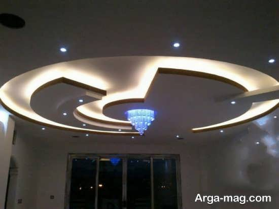 نورپردازی سقف های کاذب