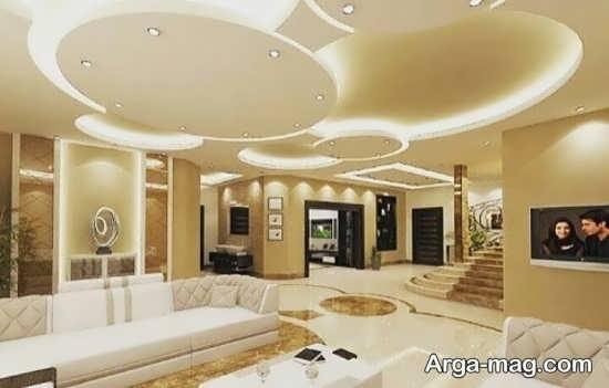 مدل نور پردازی سقف های کاذب