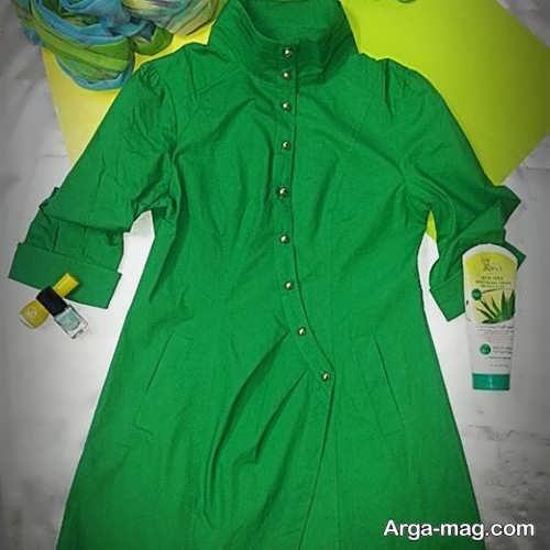 مدل تونیک سبز اسپرت