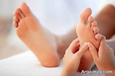روش های موثر درمان خانگی پا درد