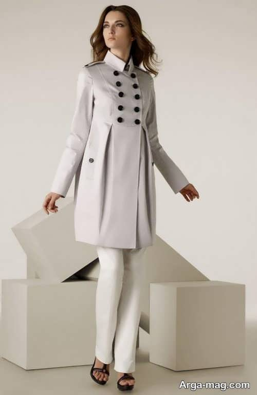 مدل مانتوی اسپرت پیله دار