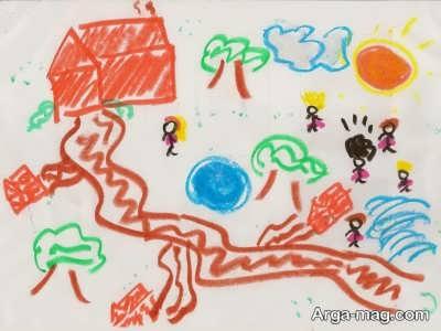 ماه و خورشید در نقاشی بچه ها یعنی چه؟