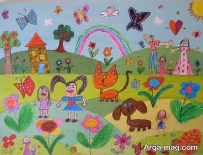 تفسیر حیوانات در نقاشی کودکان